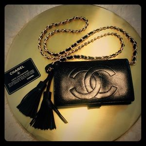 Auth Chanel Purse Wallet 🖤